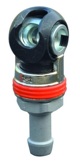 Knikkoppeling EURO slangpilaar 10mm 20500357-0