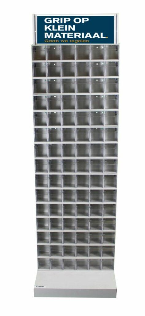 Werkplaatskast met 90 kantalbakjes en diverse inhoud 1675-delig-0