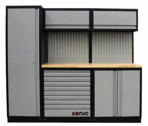 SONIC 4730230 MSS work station 230cm (houten bovenblad)-0
