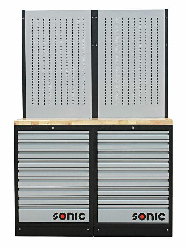 SONIC 4731303 MSS 26`` 18 laden & ophangpaneel met houten bovenblad-0