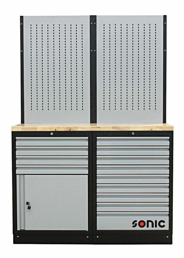SONIC 4731304 MSS 26`` 9 laden, kast met laden en ophangpaneel (hout)-0