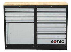 SONIC 4731307 MSS 26`` 9 laden & kast met laden met houten bovenblad-0