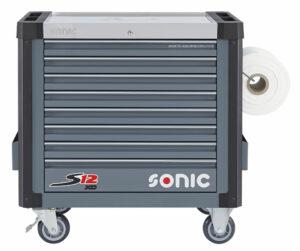 SONIC 4734218 Gereedschapswagen leeg S12XD 8 laden (RAL 7011)-0