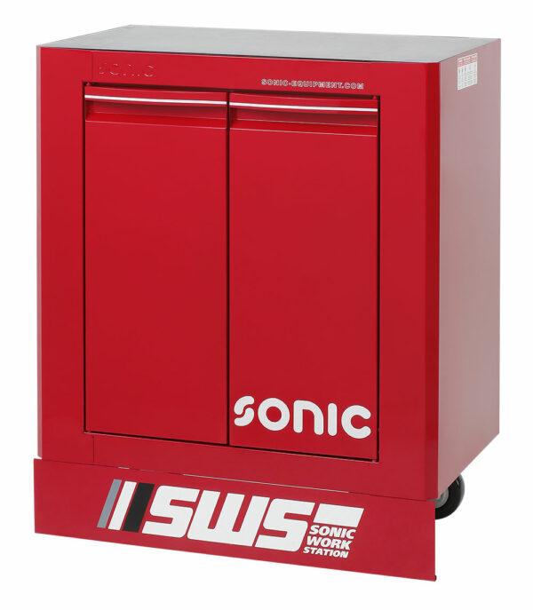 SONIC 47469 SWS 32`` gereedschapswagen met 2 deuren rood-0
