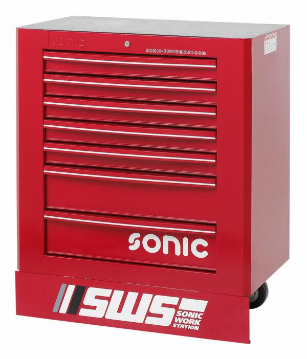 SONIC 47472 SWS 32`` gereedschapswagen met 7 laden zwart-0
