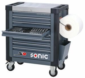 SONIC 742031 Gereedschapswagen S9 gevuld (420 delig)-0