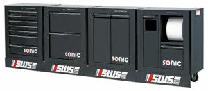 SONIC 737725 Gevulde SWS opstelling 378-dlg. zwart-0