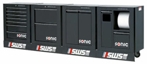 SONIC 4732210 SWS 128`` work station 3320mm zwart leeg-0