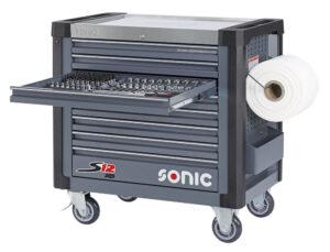 SONIC 760546 Gereedschapswagen S12XD gevuld (600 delig)-0