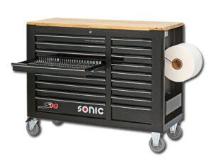 SONIC 795808 Gereedschapswagen S14 gevuld (958 delig)-0