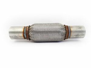 Flexibel uitlaatstuk Ø 55 x 150 mm - Met pijpje-0