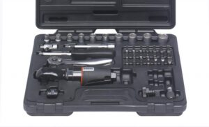 """RODAC RC582BC Luchtratel 1/4"""" en 3/8"""" in koffer-0"""
