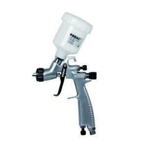 RODAC RC1220H HVLP Verfspuit 1,0 mm + 125CC Plastic Cup-0