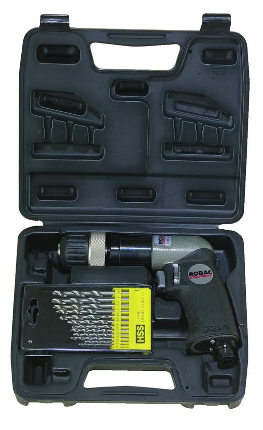 RODAC RC206ABC Boormachine pneumatisch 10 mm in koffer-0