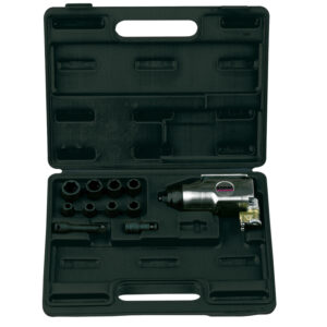"""RODAC RC632BC Slagmoersleutel 3/8"""" in Koffer met toebehoren -0"""