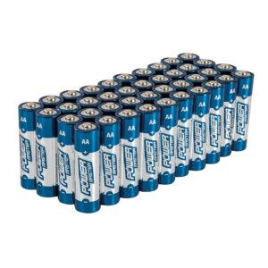 SILVERLINE 827540 AA super alkaline batterij LR6, 40 pk.-0