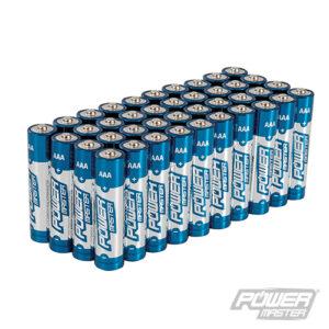 SILVERLINE 867060 AAA super alkaline batterij LR3, 40 pk.-0