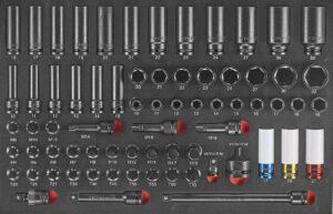 FORCE F4702 Krachtdoppen combinatie set 70-delig-0