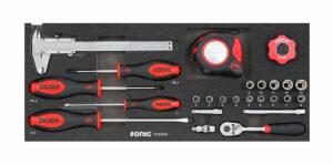 SONIC 102502 Combinatieset 1/4'', voor topbox 4730414 25-dlg.-0