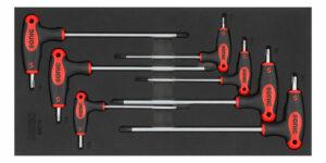 SONIC 600719 Stiftsleutel, TX L-type set 7-dlg. SFS 1/3-0