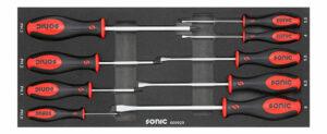 SONIC 600929 Schroevendraaierset voor topbox 4730414 9-dlg.-0
