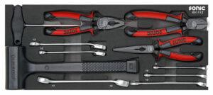 SONIC 601112 Tangen en hamerset voor topbox 4730414, 11-dlg.-0