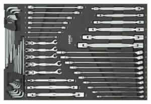 SONIC 605001 Sleutelset 50-dlg. SFS-0