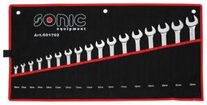 SONIC 601702 Ringsteeksleutel set in etui 17-delig-0