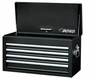 BOXO AC2641A Topkist met 4 laden & afsluitbare bovendeksel-0