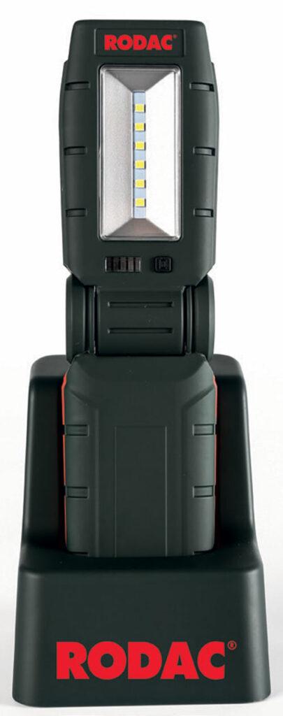 RODAC RALA825 Compacte werklamp 6 LEDs met laadstation-0