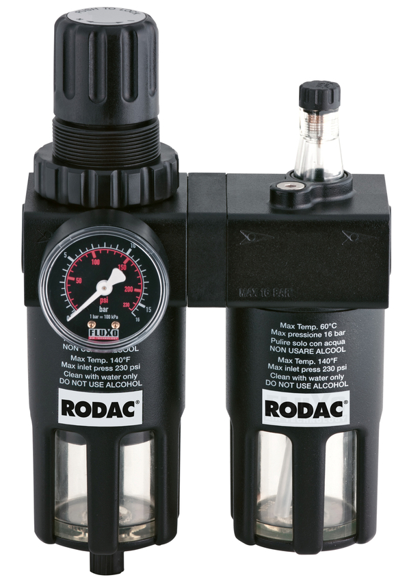 "RODAC RASG1000-14 Luchtverzorgingsunit voor 1/4""-0"