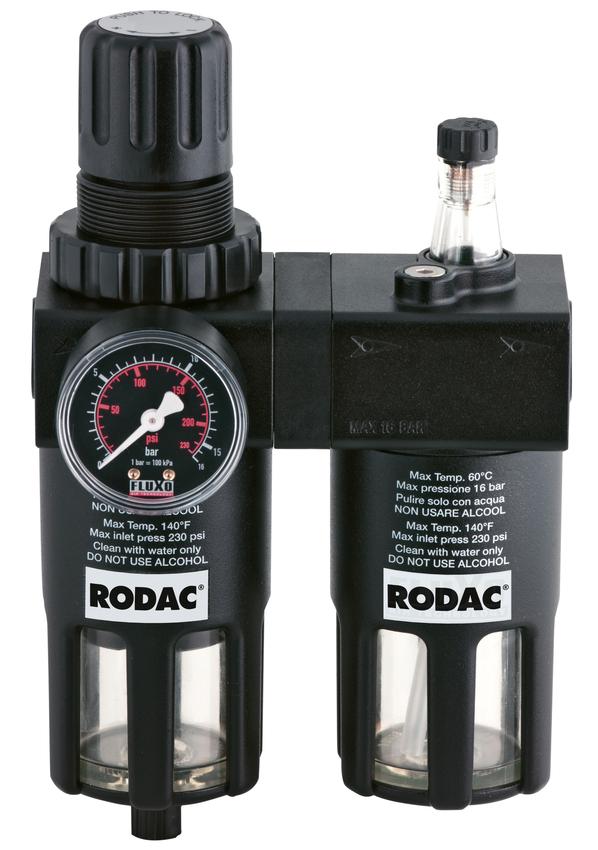 "RODAC RASG1000-12 Luchtverzorgingsunit voor 1/2""-0"