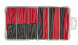 FD-1045 Krimpkous zwart/rood 127-delig-0