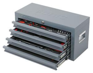 SONIC 704721 Gevulde topbox 47-dlg. grijs-0