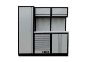 SONIC 728412 MSS196 gevuld 285-dlg. RVS topblad-0