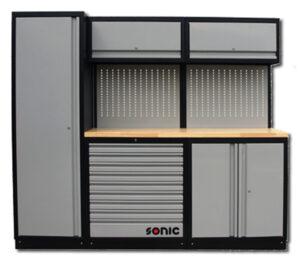SONIC 734510 MSS 230 gevuld met 345-dlg. gereedschap-0