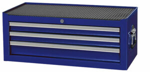 BOXO AC92333-B Opzetkist met 3 laden (leeg) Blauw-0