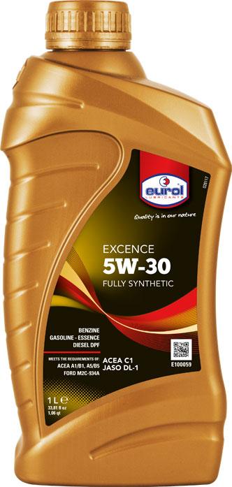 E100059 EUROL EXCENCE 5W-30 (1 liter)-0