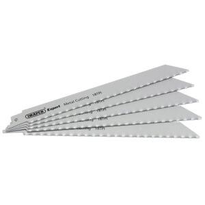 DRAPER Zaagblad metaal 150mm/18T (5 stuks)-0