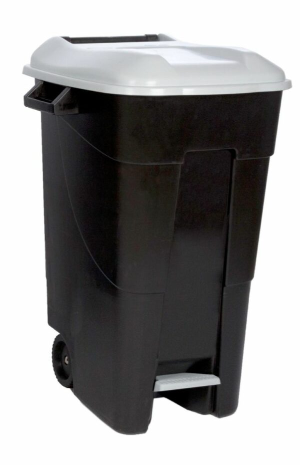 Afval container 120L met pedaal-22249