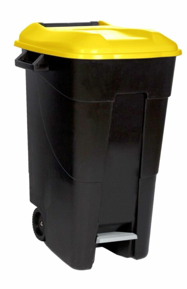 Afval container 120L met pedaal-22246