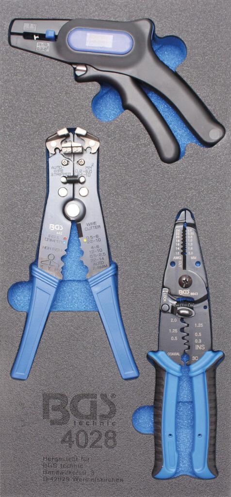 BGS 4028 Kabelstrip tangen set (3-delig)-0