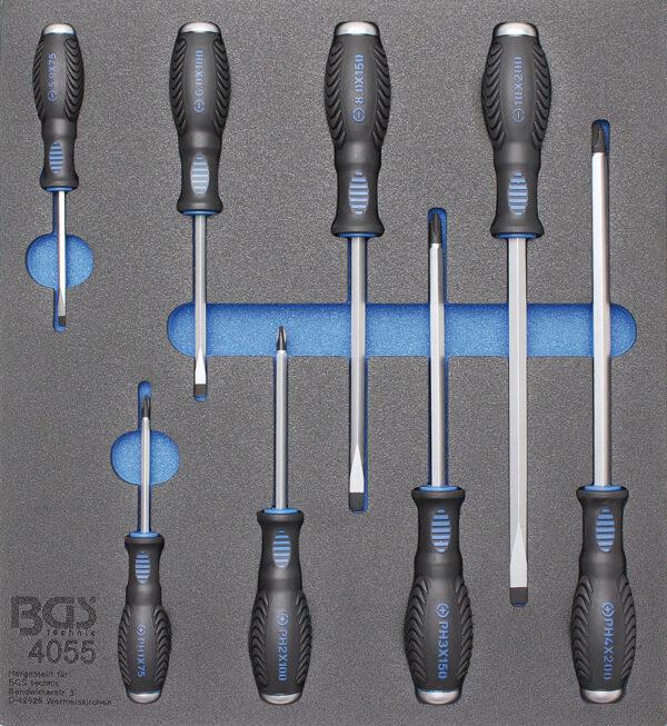 BGS 4055 Schroevendraaier set (8-delig)-0