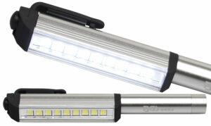 BGS 8493 Aluminium LED Pen met 9 LEDs-0