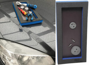 BGS 9275 Magnetische tooltray 129 x 348 x 14 mm-0