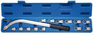 BGS 1312 Spanrolsleutelset E-torx E10 - E18 & 12-kant 12 - 19 mm-0