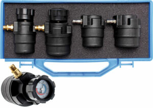 BGS 8958 Diagnosekoffer met manometers voor turbolader   55 - 60 - 65 - 70 mm-0
