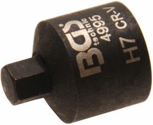 BGS 4995 Remklauw dop kort 7 mm-0