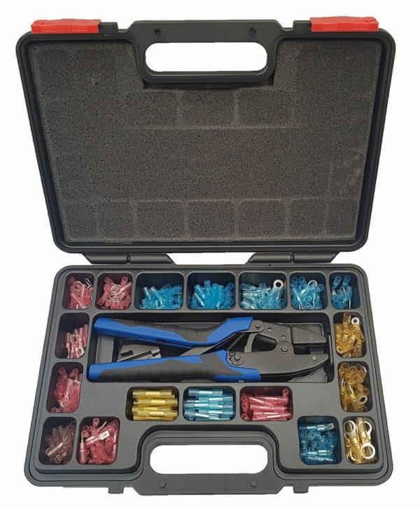 Kabelschoen krimpverbinders assortiment professioneel 378-delig-0