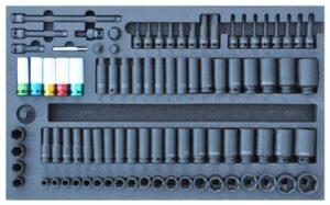 DELTACH 540200 FOAM inlay met krachtdoppen-0